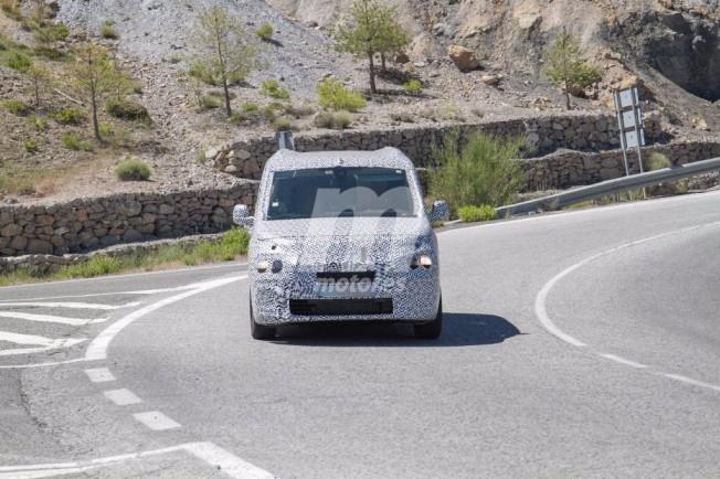 Citroën Berlingo 2018 - foto espía frontal