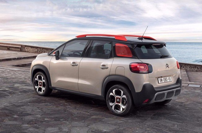 Citroën C3 Aircross - posterior