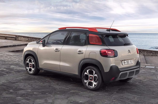 Citroën C3 Aircross 2018 - posterior