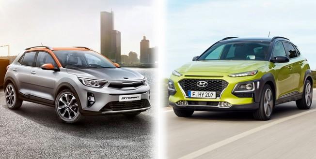 Kia Stonic y Hyundai Kona