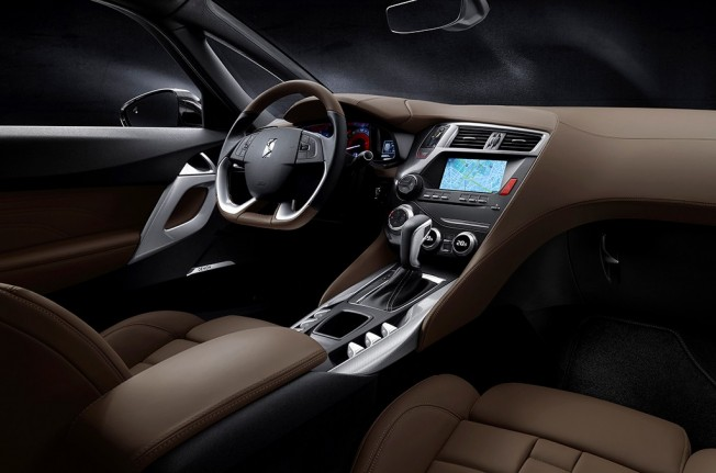 DS 5 Prestige - interior