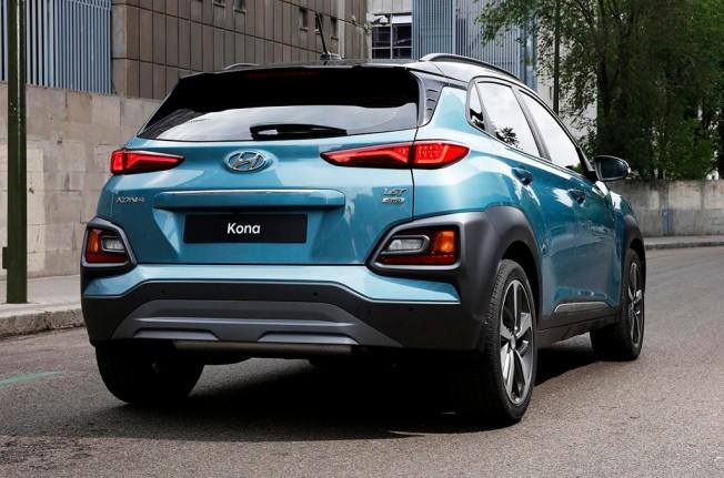 Hyundai Kona 2018 - posterior