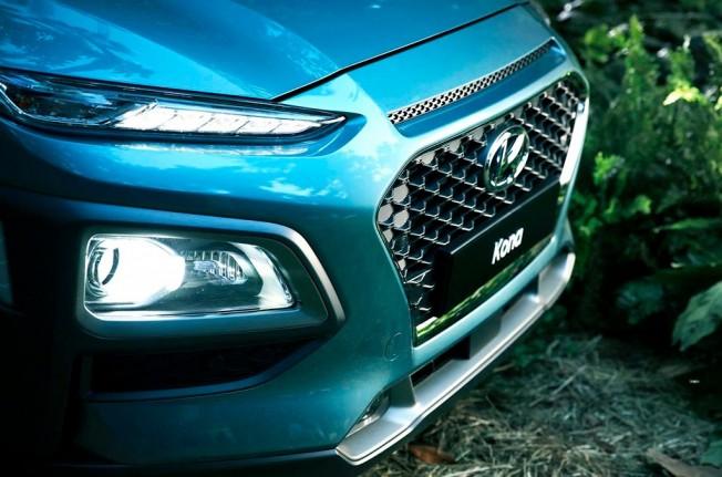 Hyundai Kona 2018 - frontal