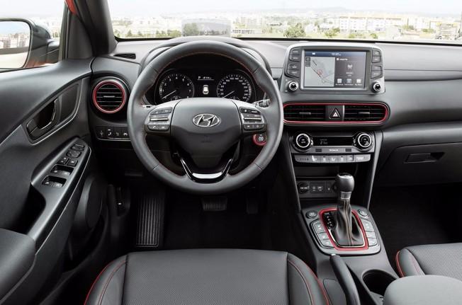 Hyundai Kona 2018 - interior