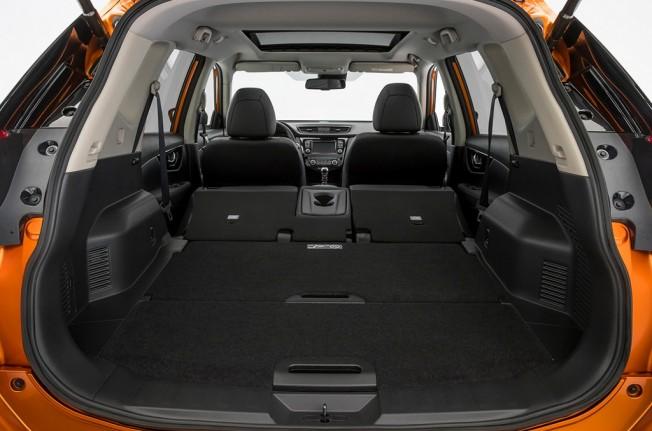Nissan X-Trail 2017 - maletero