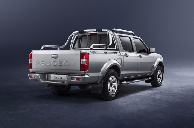 Peugeot Pick Up 2017 - posterior