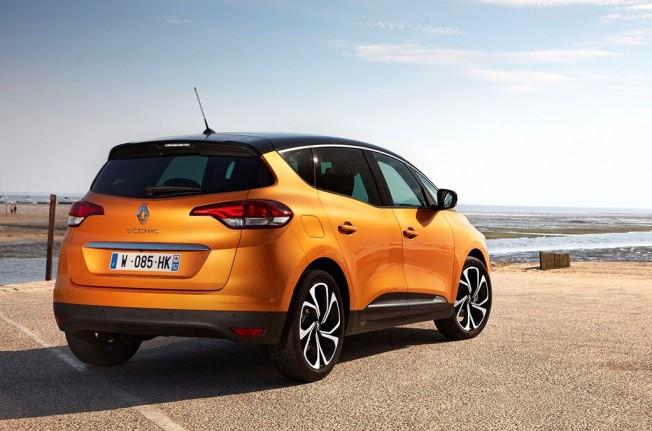 Renault Scénic 2017 - posterior