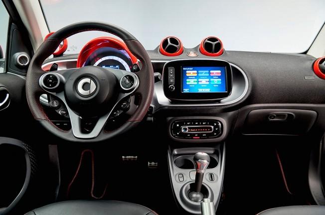 Smart Ushuaïa Limited Edition 2017 - interior