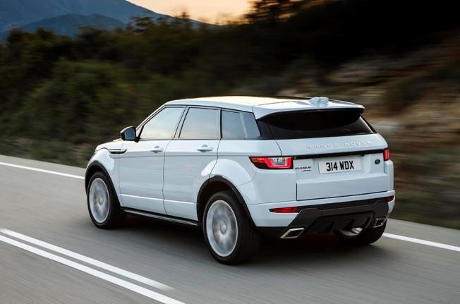 Range Rover Evoque 2017 - posterior