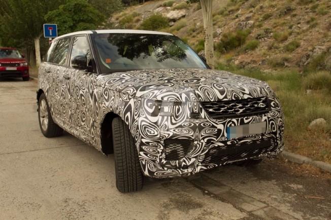 Range Rover Sport 2018 - foto espía