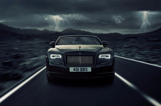 Rolls-Royce Dawn Black Badge - frontal
