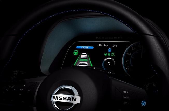 Nissan Leaf 2018 - teaser