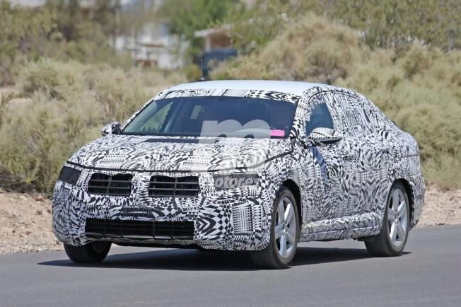Volkswagen Jetta 2018 - foto espía