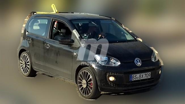 Volkswagen Up! GTI 2018 - foto espía