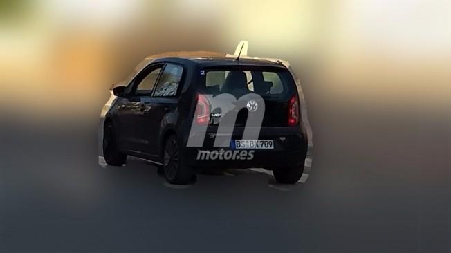 Volkswagen Up! GTI 2018 - foto espía posterior