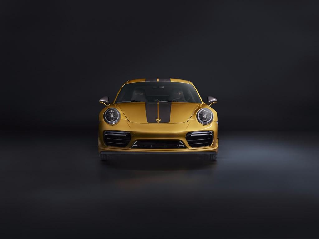 Porsche 911 Turbo S Exclusive Series: el 911 Turbo más potente hasta la fecha