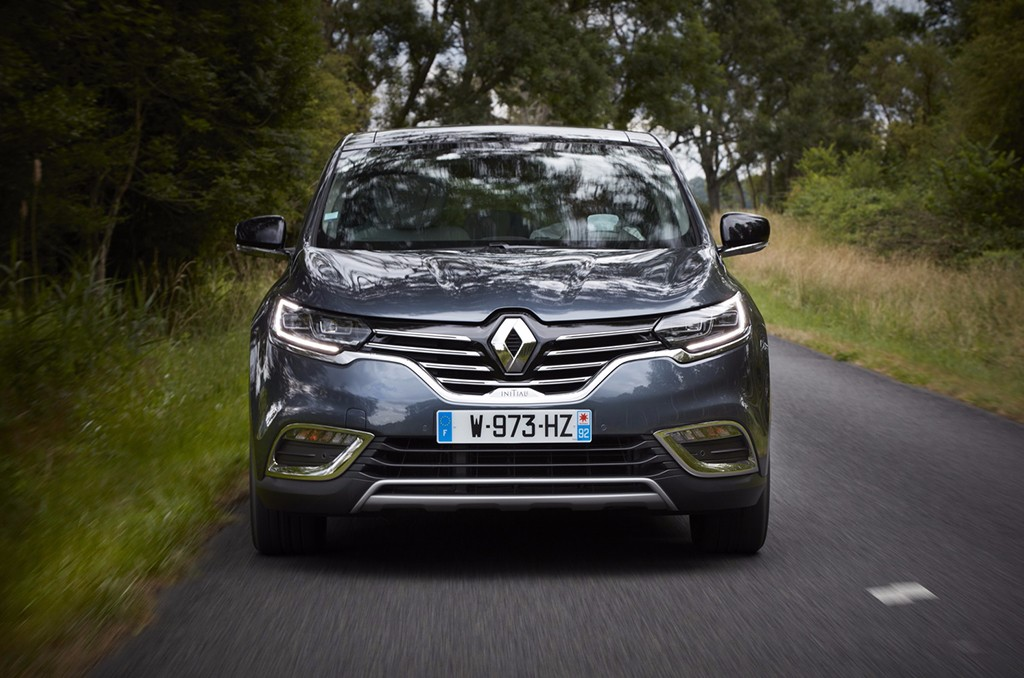 Renault Espace 2017 - frontal