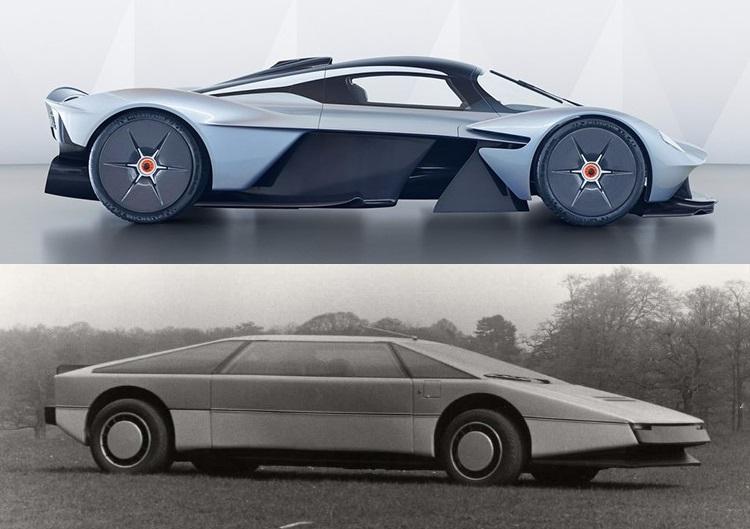 El nuevo Valkyrie comparte más con el Aston Martin Bulldog de lo que pensabas
