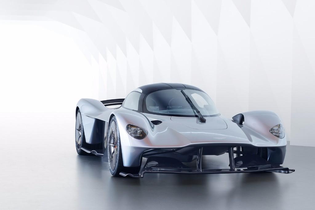 El nuevo Aston Martin Valkyrie, más cerca de su versión de producción