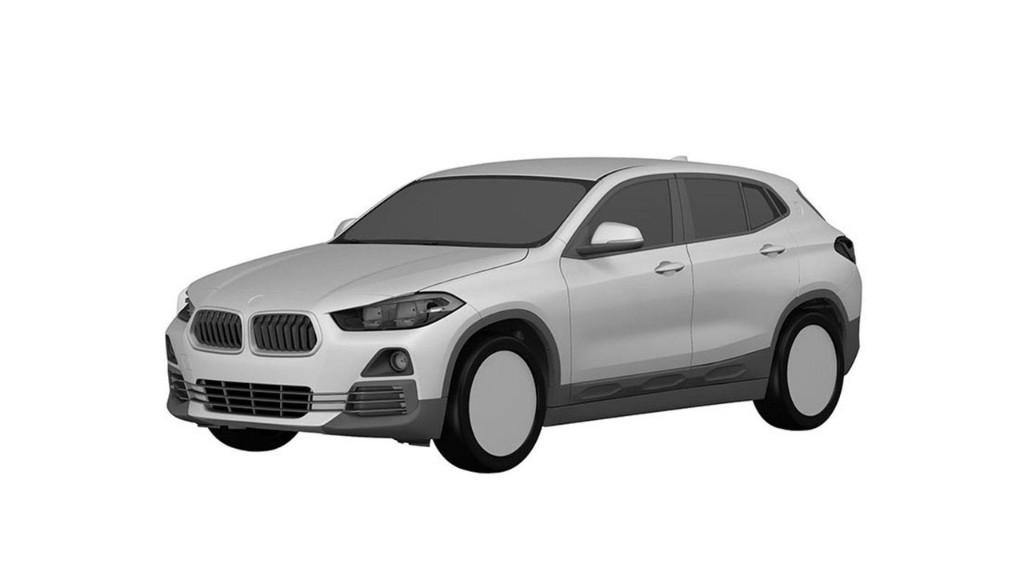 BMW X2: los bocetos de patente nos revelan su diseño definitivo