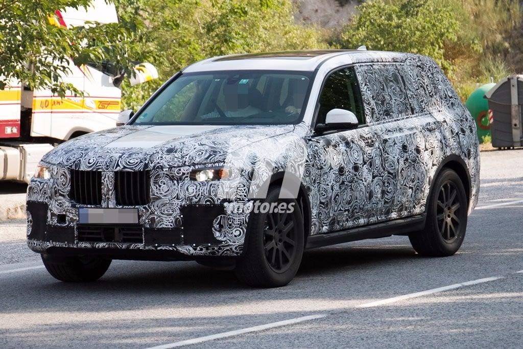 Un nuevo vistazo al BMW X7 2018 durante una sesión de pruebas