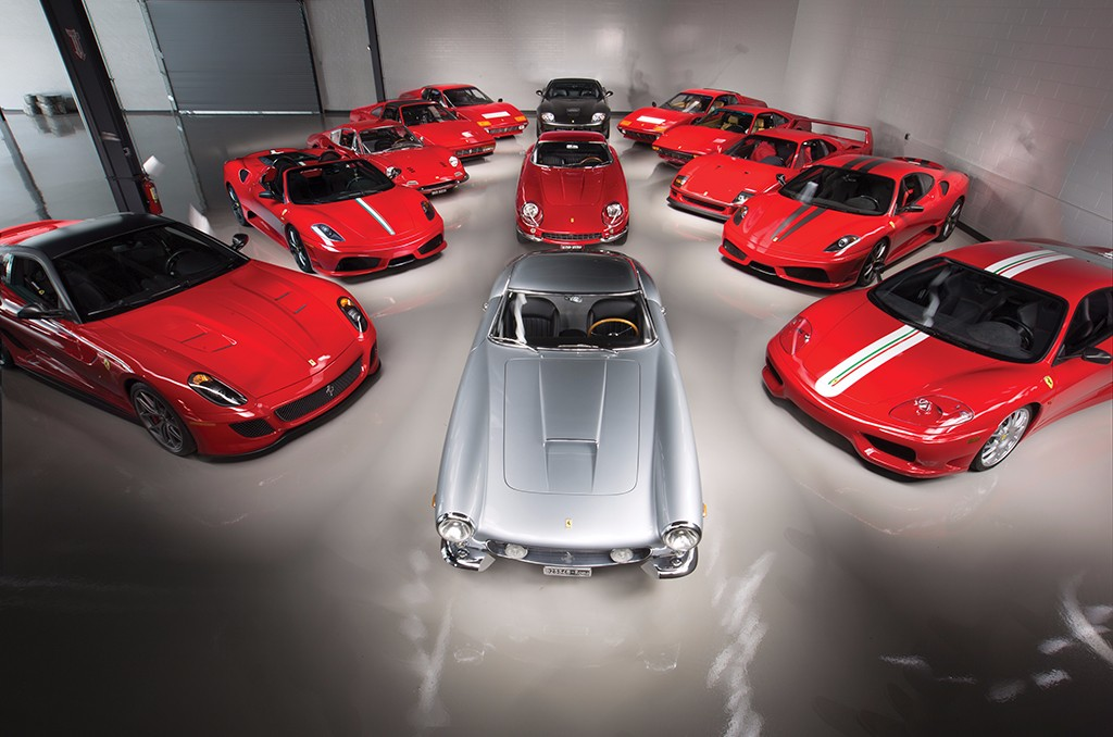 Ferrari Performance Collection: 13 raros Ferrari a la venta en Pebble Beach