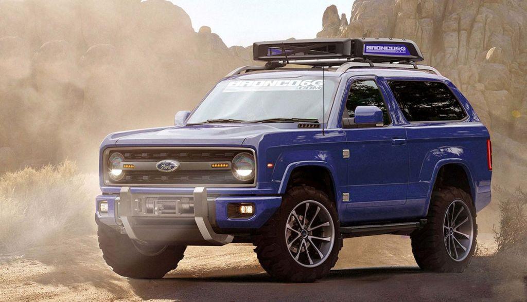 Ford Bronco 2020: así será el nuevo SUV off road de Ford