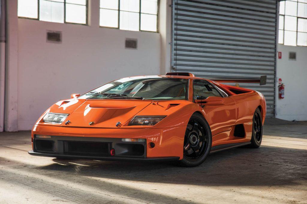 Lamborghini Diablo GTR: uno de los raros Diablo track-only a subasta