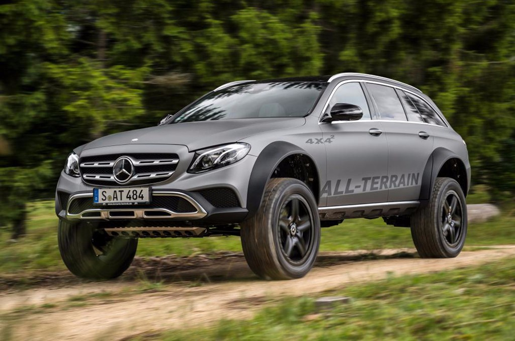 Mercedes Clase E All Terrain 4x4²: un 'one-off' extremadamente bizarro