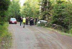 Accidente de Sébastien Ogier en su test en Finlandia