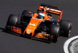 Alonso exprimió el MCL32 en su mejor resultado de toda la temporada