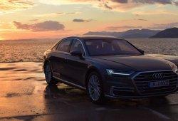 Así fue la impresionante presentación del nuevo Audi A8
