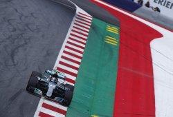 Bottas se viste de Hamilton en Austria