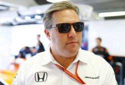 """Brown cree que sus rivales """"disfrutan"""" con la situación de McLaren"""