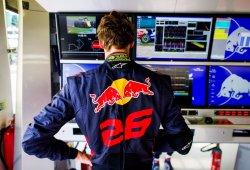 Daniil Kvyat, deseoso de conocer su futuro en la estructura de Red Bull