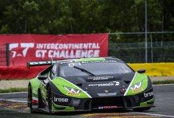 Aviso de Lamborghini en los libres de las 24 Horas de Spa