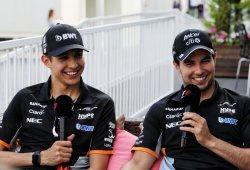 Force India seguirá dando libertad a Pérez y Ocon tras lo ocurrido en Bakú