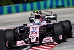 Force India vuelve a pescar puntos pese a un nuevo choque mútuo