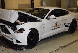 El nuevo Ford Mustang 2018 mejora sus resultados Euro NCAP con 3 estrellas
