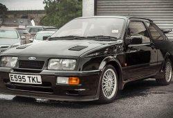 Ford Sierra Cosworth RS500 de 1987 con muy pocos kilómetros a subasta