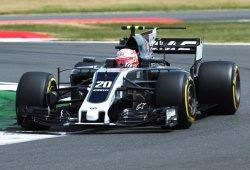 Haas no encontró el ritmo en Silverstone en todo el fin de semana