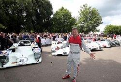 Homenaje a Tom Kristensen, Mr. Le Mans, en Goodwood