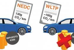 Se avecina un problema con los impuestos ligados al CO2 por el ciclo WLTP