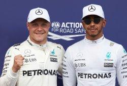 Mercedes descarta ralentizar a Bottas para favorecer la remontada de Hamilton