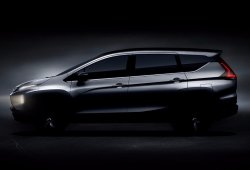 Mitsubishi Expander 2018: teaser del nuevo modelo anticipado por el XM Concept
