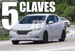 Nissan Leaf 2018: analizamos las 5 claves que serán cruciales para su éxito