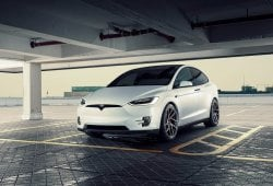 Novitec se atreve con los coches eléctricos y modifica un Tesla Model X