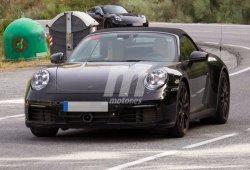 Porsche 911 Cabrio: la nueva versión descapotable cazada en España