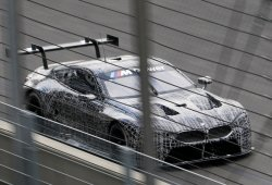 Primeras imágenes del BMW M8 GTE en acción