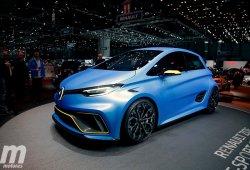 Se baraja el desarrollo del Renault Zoe RS, una versión de altas prestaciones